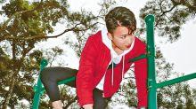 周嘉洛扮樹懶挑戰體能極限