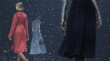 Raf Simons Conjured Silver Belles for Christian Dior's Debut Pre-Fall Collection