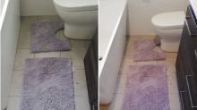 Lila oder grau: Dieses Mal streitet das Internet über die Farbe einer Badematte