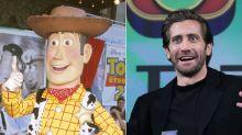 Everyone thinks Jake Gyllenhaal looks like Disneyland's Woody from 'Toy Story'