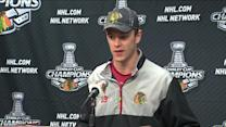 RAW: `Something special` about Hawks, Toews says