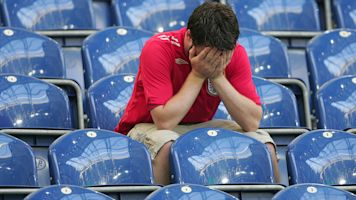 England fan leaves World Cup ticket at home