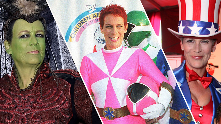 Jamie Lee Curtis is the queen of fancy dress