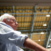 Democratic Party offers apology to Bernie Sanders as chaos grips the first day of the convention