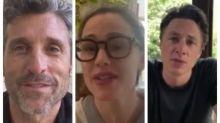 Coronavirus: Patrick Dempsey, Zach Braff and Jennifer Garner return to doctor roles to thank healthcare workers