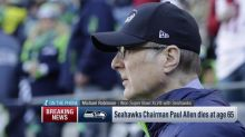 Michael Robinson on Paul Allen: He was a 'great man to humankind'