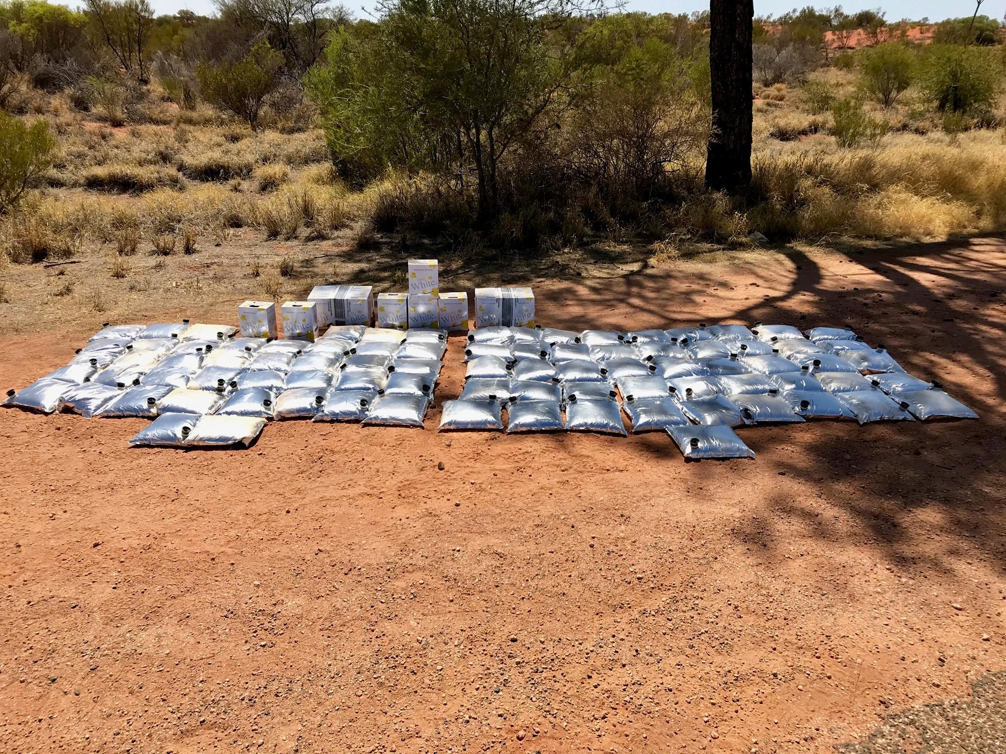 NT police destroy 500 litres of alcohol destined for remote communities