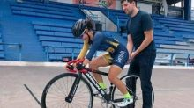 Alexia Fernanda soñaba con ser campeona nacional de ciclismo; su padre le inculcó el amor a este deporte