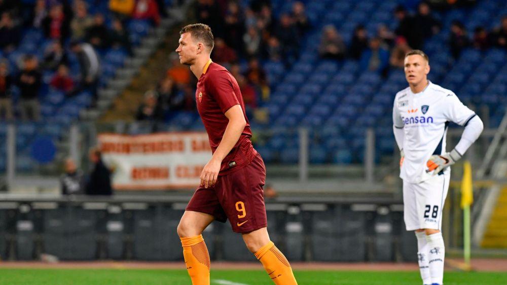 Roma, Dzeko 'dice' 33: Edin nella storia giallorossa, nessuno come lui in una sola stagione