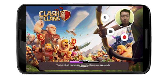 Android can record your mobile gaming sessions