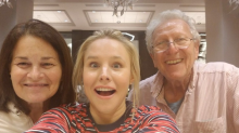 Josh Gad Thanks 'Frozen' Costar Kristen Bell for 'Literally Saving' His Family From Hurricane Irma