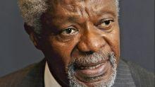 Turnbull honours former UN head Kofi Annan