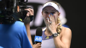 Wozniacki's storied career comes to emotional end