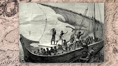 How a chance encounter brought slavery to the U.S.