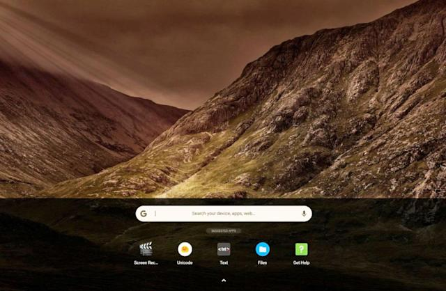 Touch-friendly controls are coming to Chrome OS