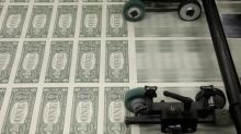 Dollar Falls as Safe-Heaven Demand Diminish
