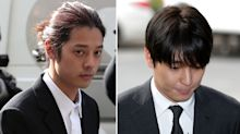 K-pop stars weep as they are jailed for gang-rape