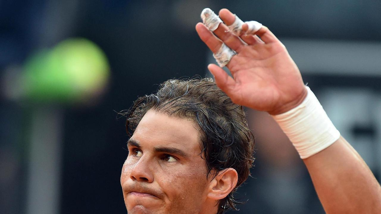 Tennis champion Nadal aced by IT gremlins thumbnail