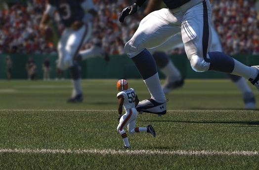 Crush Tiny Titan's spirits in Madden 15 challenge