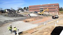 New housing begins to rise on box maker's old Norcross campus