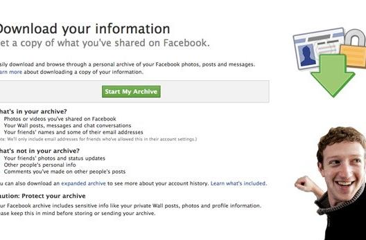 Facebook revealing the personal data it collects, won't spare your drunk-poking blushes