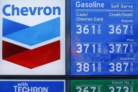 News post image: Chevron Stock Falls 6%