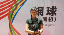 全大運》跨海14天隔離來台參賽 網球甜心許絜瑜遺憾未完賽