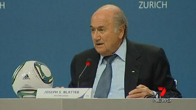 Blatter remains on top
