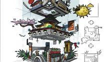 'Lego Ninjago Movie': See How Designers Turned Film's Setting Into Epic Model