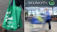 Woolworths' new move to counter criticism over plastic bag ban
