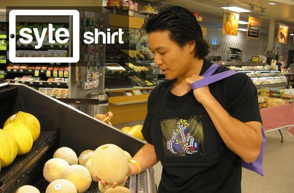 iPad-toting Syte Shirt redefines 'multitasking'