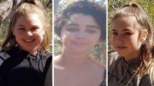 Search underway to find three missing teenage girls