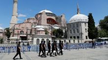 Pope 'very pained' by decision to turn Istanbul's Hagia Sophia museum into mosque