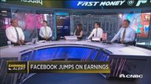 Facebook is soaring on earnings despite concerns over its main platform