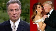 Donald y Melania Trump, Jennifer Garner y John Travolta, entre lo peor del año según las nominaciones a los Razzies