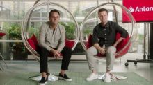 Ant and Dec launch 'bank of Antanddec' with Santander