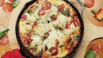 The Ultimate Cast Iron Pizza Hack
