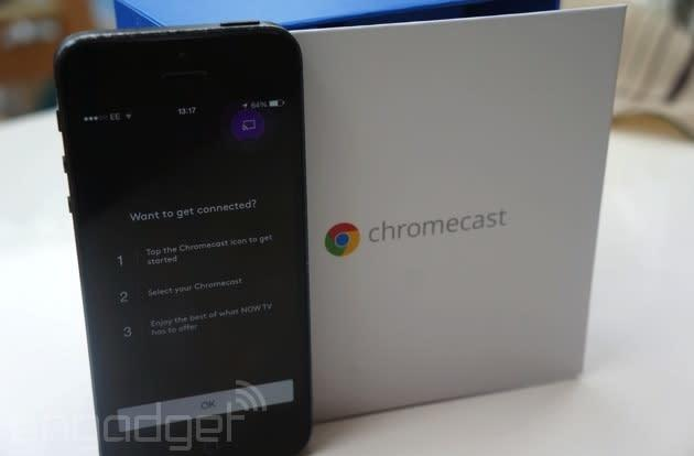 Google offers three months free Now TV streaming to UK Chromecast owners