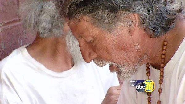 Homeless man blind after being shot with paintball guns