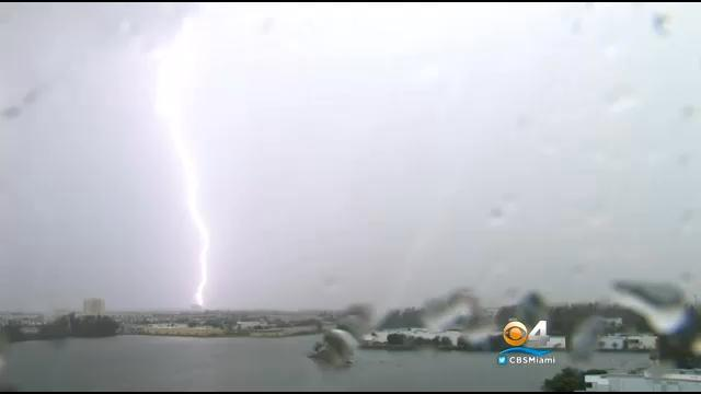 Storms Bring Damaging Winds And Hail To South Florida