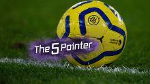 The Five Pointer: Huge games kick off Premier League festive calendar, Liverpool face Flamengo test, England ravaged by sickness