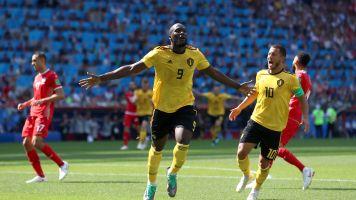Belgium cruise to last 16 with Tunisia thrashing