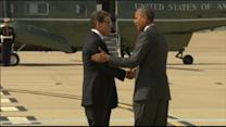 President Obama Sits Down With Gov. Rick Perry to Discuss Border Crisis