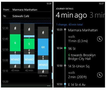 Nokia Transport goes official: public transport departure times for over 100 cities (video)