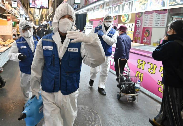 South Korea starts virus checks on 200000-plus sect members