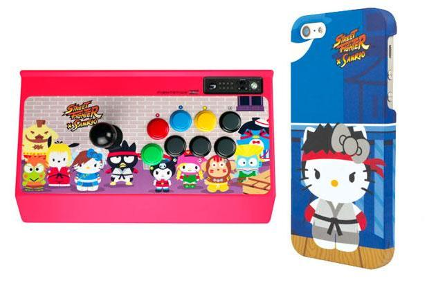 Street Fighter x Sanrio: a merchandising mash-up made in otaku heaven
