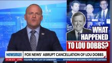 Newsmax Host: Did Fox Cancel Dobbs to Cover Up Murdoch Ties to China?