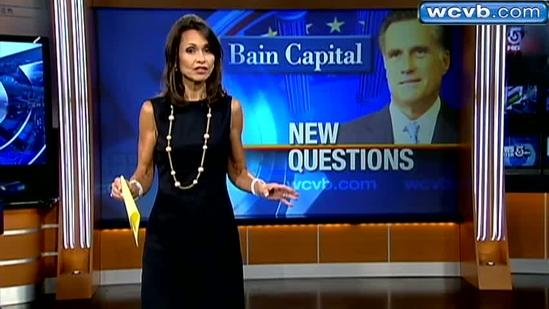 Romney departure date from Bain questioned