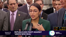 Rep. Ocasio-Cortez unveils new deal; focuses on the environment