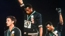 AP Was There: Black fists raised at '68 Mexico City Olympics